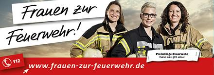 Frauen-zur-Feuerwehr